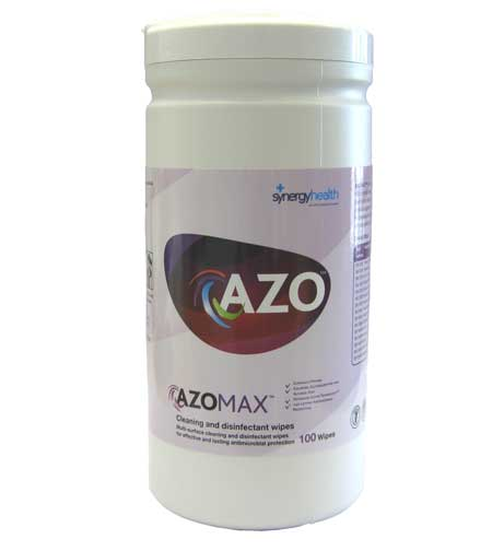 Azomax Surface Disinfectant Wipes pack of 50