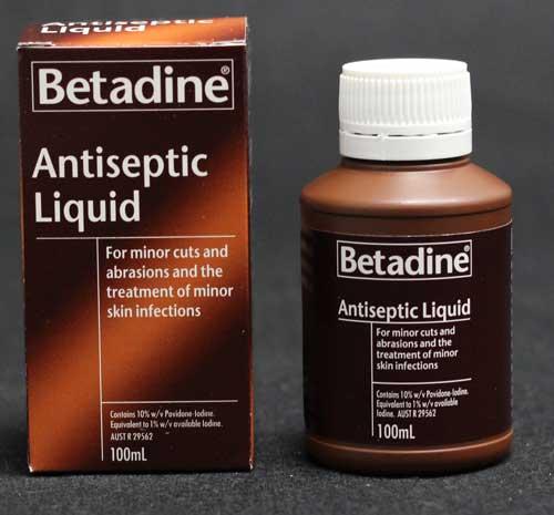 Betadine Antiseptic