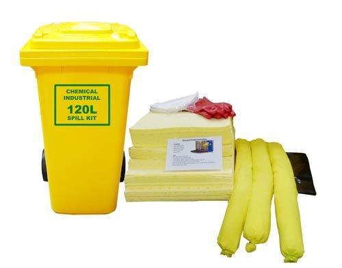 chemical spill kit 120l