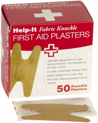 fabric knuckle plasters