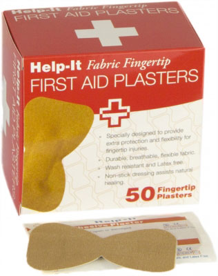 fingertip fabric plasters