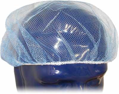blue hair net