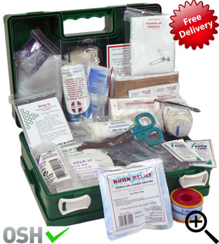 farm first aid kiy metal box