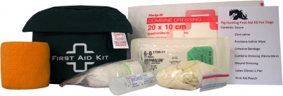 pig hunting kit for first aid for dogs