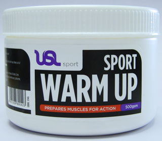 warm up cream