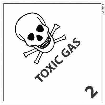 toxic gass signage