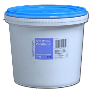 White Petroleum Jelly 2.5kg bucket